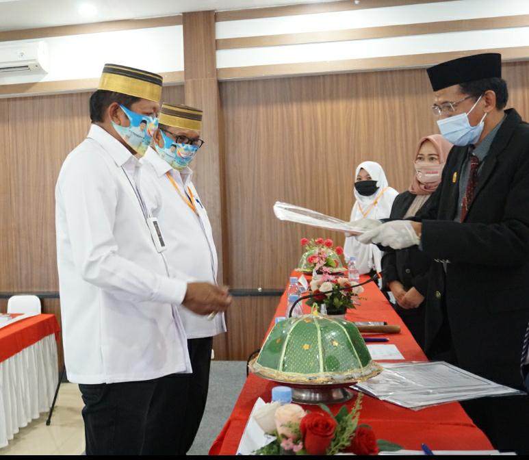 KPU Soppeng Gelar Rapat Pleno Terbuka dengan Protokol Kesehatan