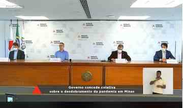 Pico do coronavírus: Zema teme colapso do sistema de saúde em um mês
