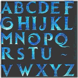 abecedario frozen