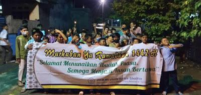 MT Musholla Baitus Solihin, Karang Satria Green Residence Gelar Pawai Ta'aruf