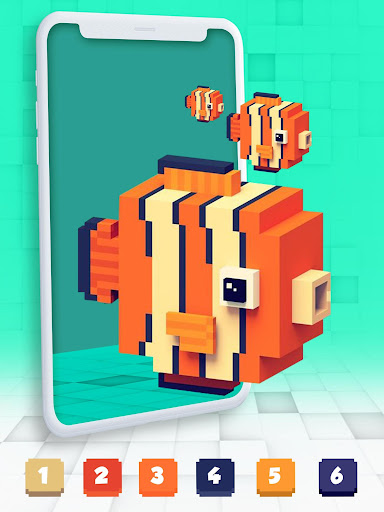 Color By Number Pixel Art 3D 1.0 screenshots 13