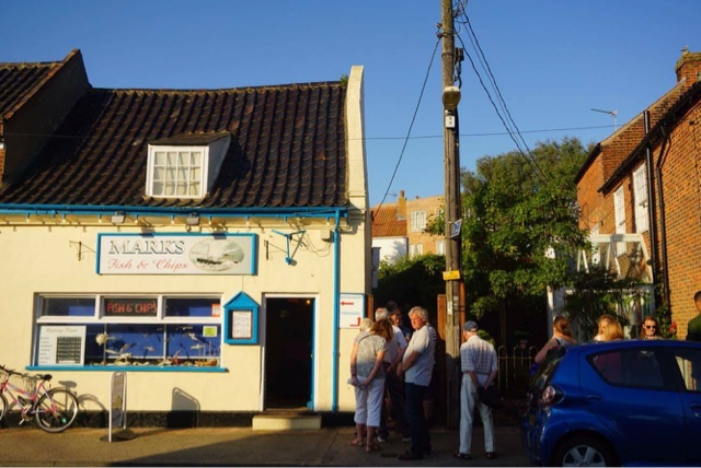 Mark's Fish & Chip Shop - it's legendary and worth the queue!