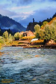 Light after rain in Neelum Valley Kashmir