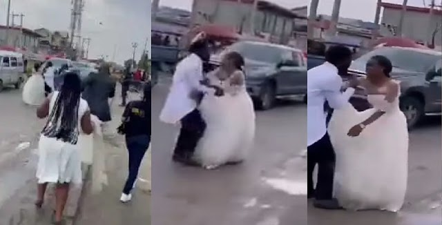 Drama As Bride Finds Out On Wedding Day That Page Boy is Groom's Son [Video]