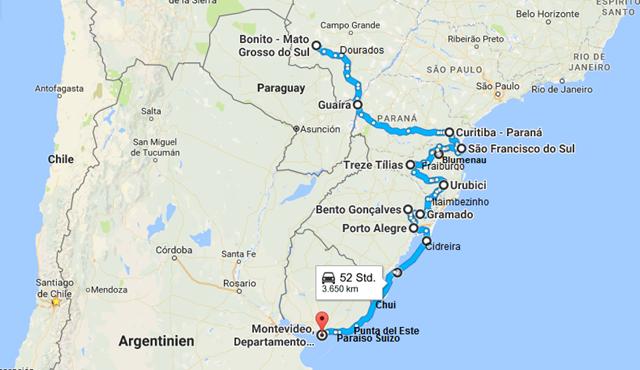 Bonito - Montevideo