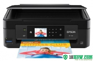 How to reset flashing lights for Epson XP-420 printer