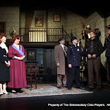 Cindy Welch, Debbie May, Michael Schaefer, Michael Rzepka, Robert Hegeman, Daniel Martin and Richard Messina in ARSENIC AND OLD LACE (R) - May 2011.  Property of The Schenectady Civic Players Theater Archive.