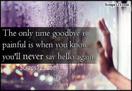 Goodbyes are Painful  Image - 5