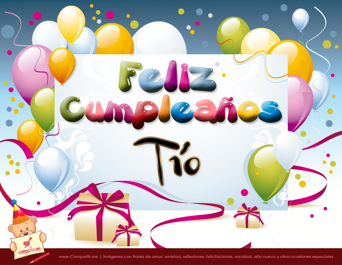 Imagenes De Feliz Cumpleaños Tio Imagui
