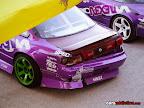 Lluis Lopez purple Nissan S14 with a sore ass