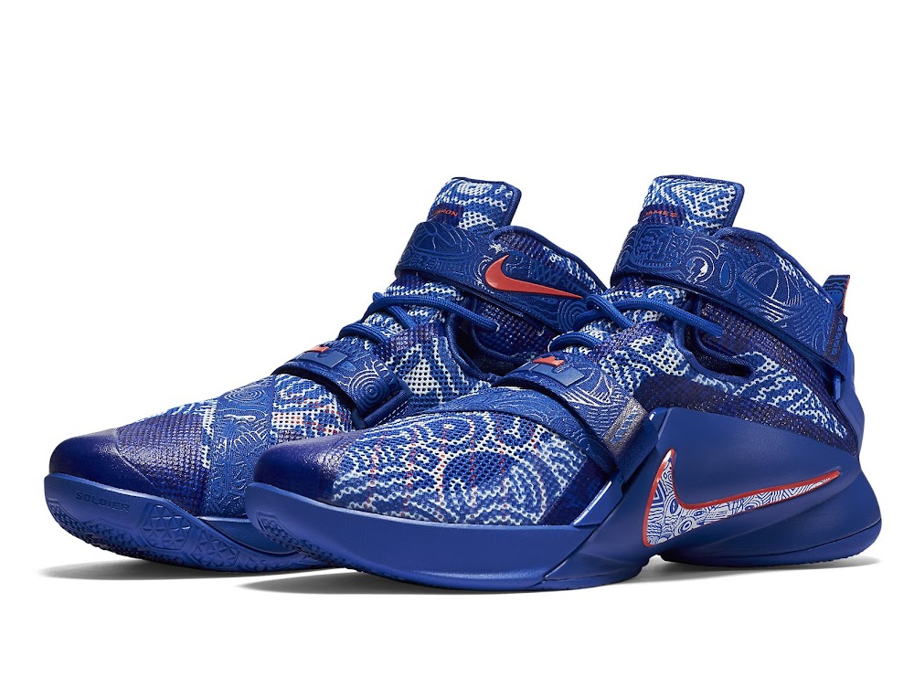 low priced b0d3f d5a0b Official Look at FREEGUMS LeBron Soldier 9 Both Pairs ... Nike ...