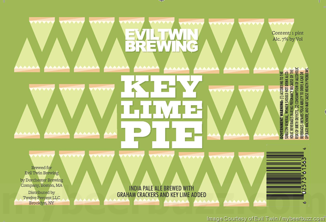 Evil Twin - Key Lime Pie 16oz Cans