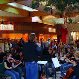 The Missoula All-City Orchestra performs at Southgate Mall.