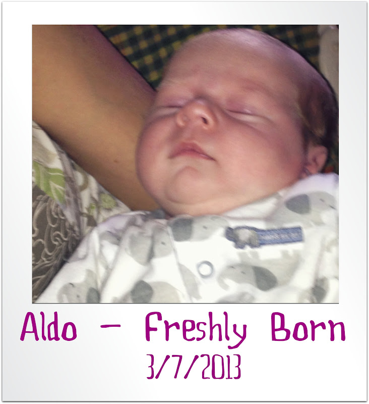 Happy 1st Birthday from Spirit of Life to  Aldo