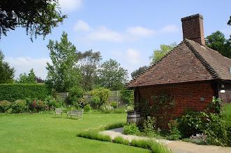 Photo: Rear Garden and Outhouse