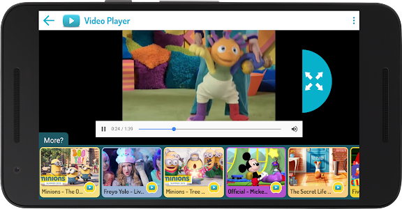 KIDOZ TV: Best Videos for Kids screenshot 3