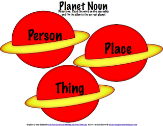 Galaxy Grammar Planet Noun