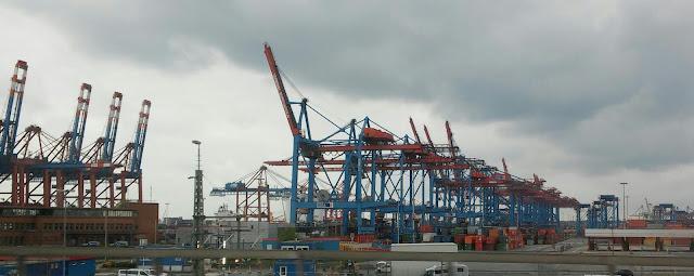 Hafenbesichtigung Containerhafen Hamburg