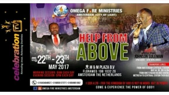 Mega Grace Record Breakers Prayer Network: GOD'S ORACLE STORMS