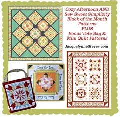 Cozy Afternoon AND Sew Sweet Simplicity BOM - Jacquelynne Steves