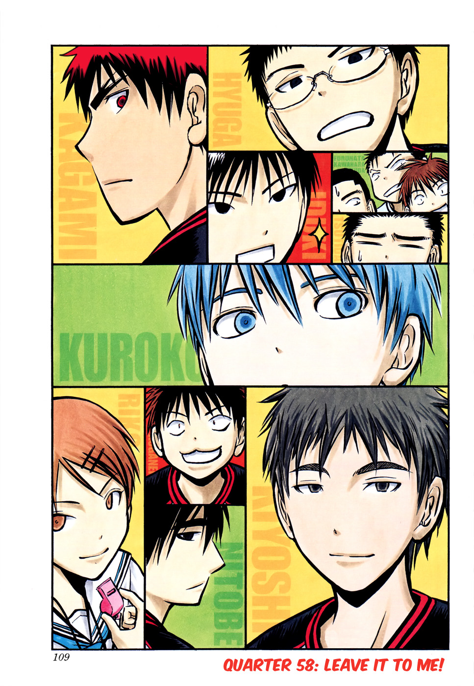 Kuroko no Basket Manga Chapter 58 - Image 600/1