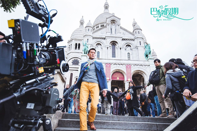 Paris Holiday China / Hong Kong Movie