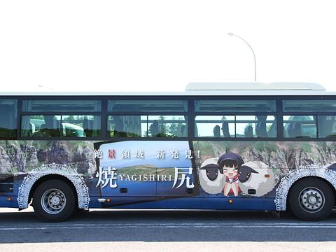 沿岸バス「特急はぼろ号」・392 右側「白浜ひばり」