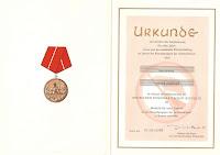 207a Medaille für treue Dienste in den Kampfgruppen für 10 Dienstjahre http://www.ddrmedailles.nl