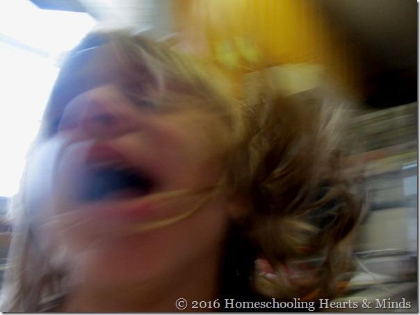 Little kids like selfies at Homeschooling Hearts & Minds