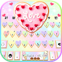 Pastel Sweet Cookie Keyboard Background icon
