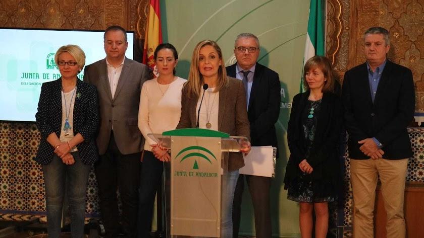 Maribel Sánchez ha detallado este miércoles las nuevas medidas de la Junta.