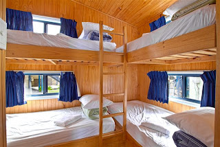 Two bedroom Holiday Cabin 5 - Second bunk bedroom