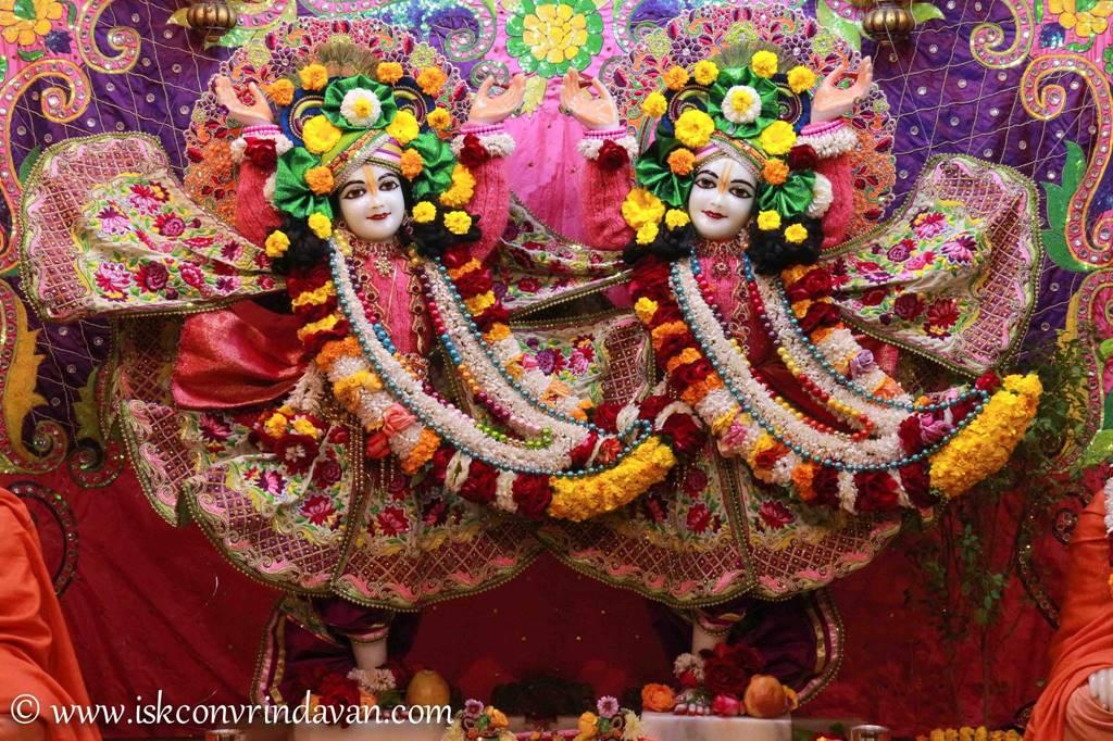ISKCON Vrindavan Sringar Deity Darshan 14 Jan 2016 (17)