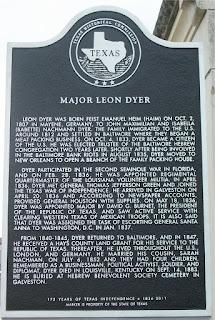 Dyer, Leon Marker TX