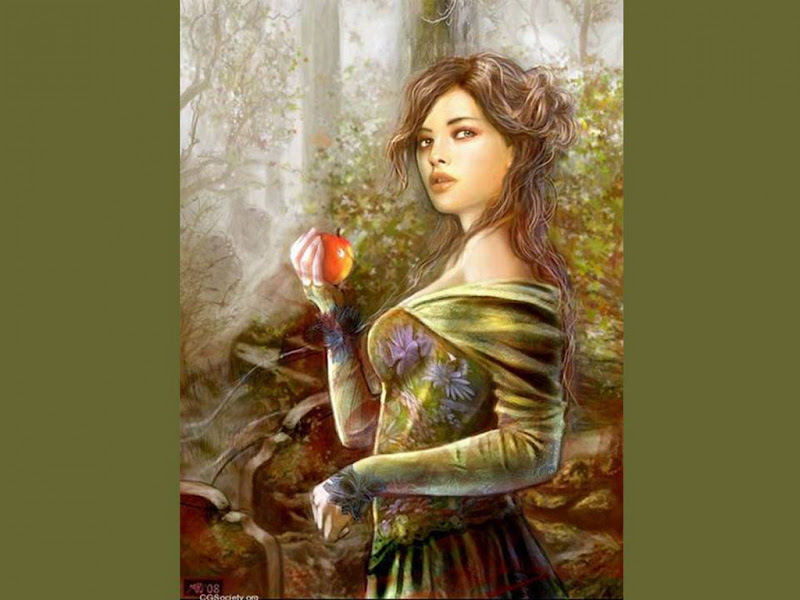 Beauty And A Red Apple, Fairies 4