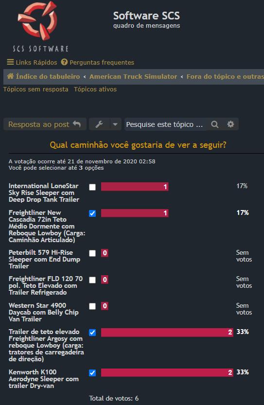 SCS SOFTWARE: Qual caminhão você gostaria de ver a seguir?