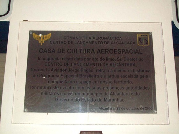 Museu Aeroespacial - Alcantara, Maranhao, foto: Fernando Cunha/Panoramio