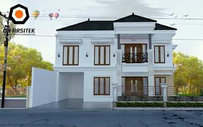 desain atap rumah bagian depan