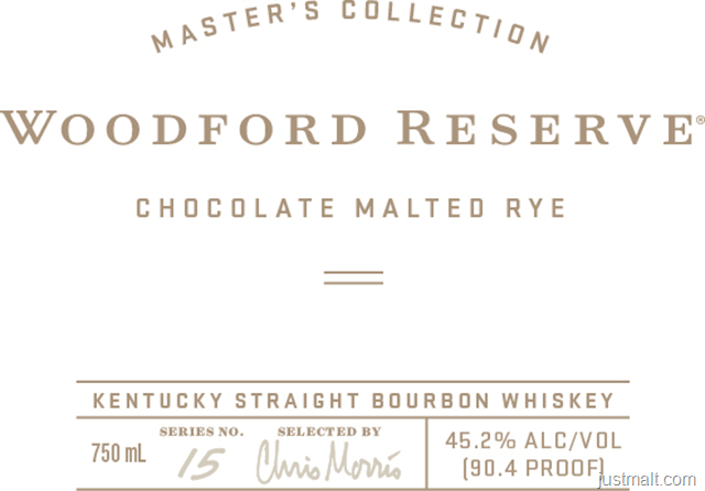 Woodford Reserve Master's Collection Chocolate Malted Rye
