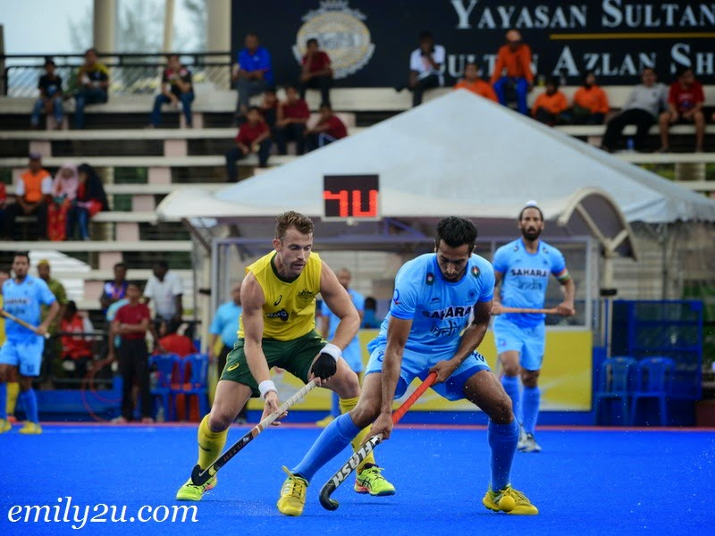 2015 Sultan Azlan Shah Cup – Match 13 – Australia (2) - India (4)