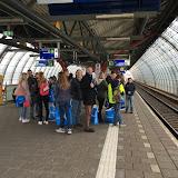 Wachten op de trein ...