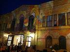 Látogatók várakoznak a Petőfi Irodalmi Múzeum előtt a Múzeumok éjszakáján, 2016 (Fotó: PIM)