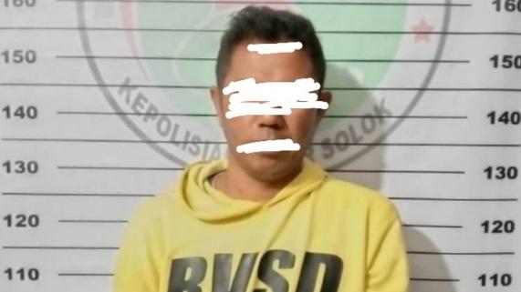 Sopir Penyalahgunaan Narkotika di Ringkus Polres Solok
