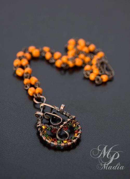 naszyjnik handmade