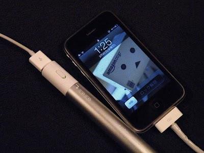 iPhone3GSもeneloop stick boosterでも充電できない
