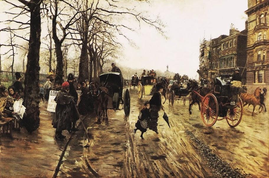 Giuseppe de Nittis - Piccadilly, 1875