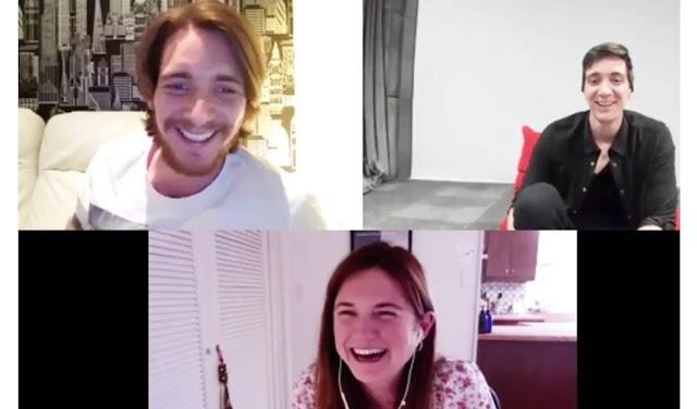 Astros de 'Harry Potter' fazem surpresa para fãs com reunião em videochat nas redes sociais