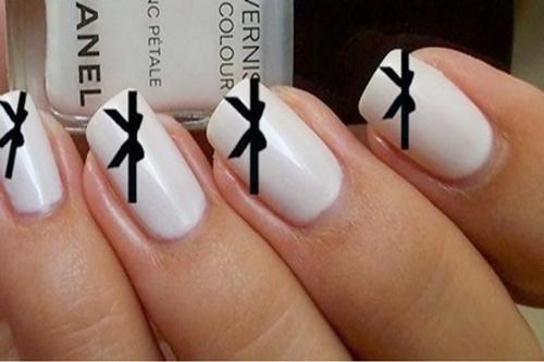 13 Cute Bow Nail Designs Fashionte