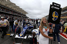 Marcus Ericsson, grid girl Circuit of the Americas.