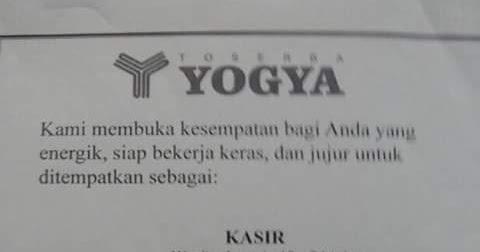 My Tasik Eksis: LOKER Yogya TASIKMALAYA | My Ano